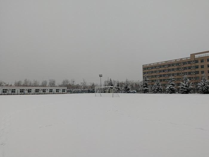 西石大的雪