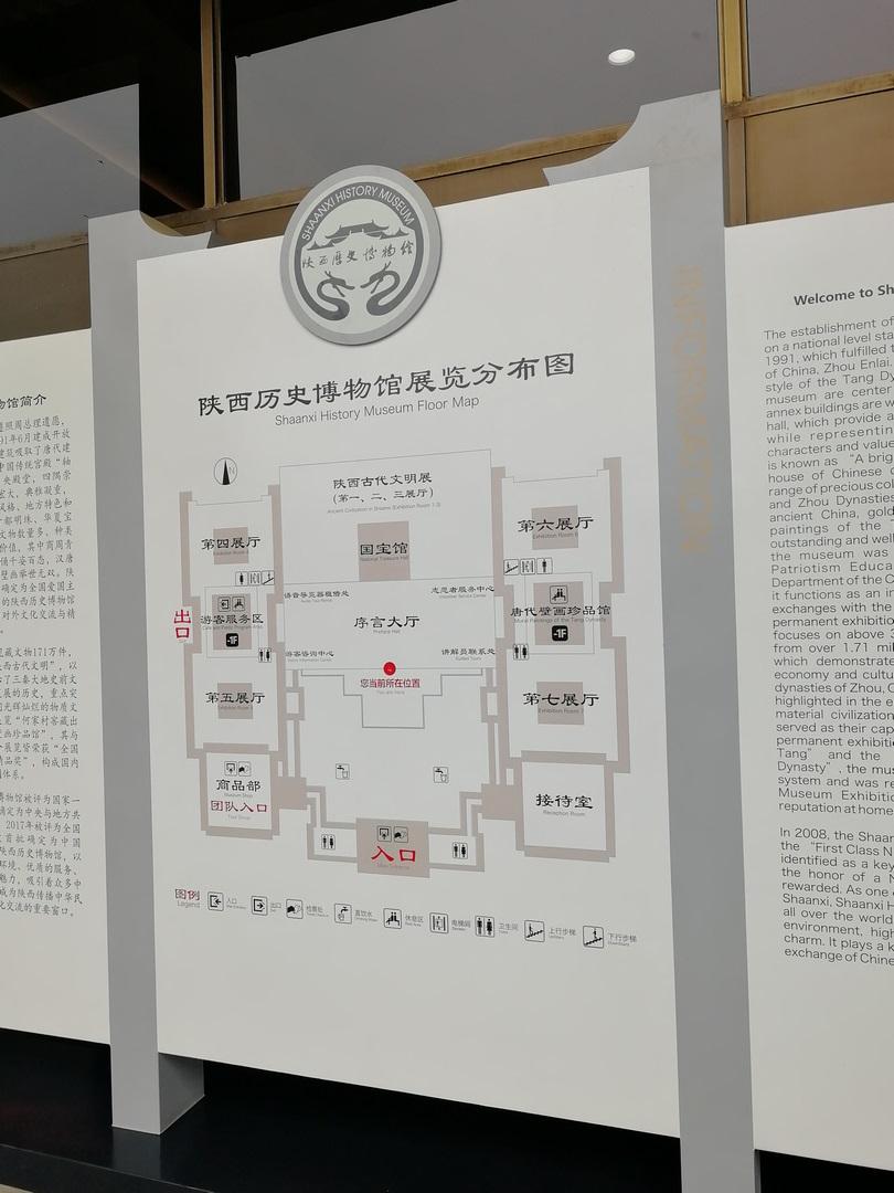 陕西博物馆一游